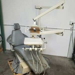 Adec 1005 Priority Dental Chair With 6300 Light And Delivery Unit Good Condition