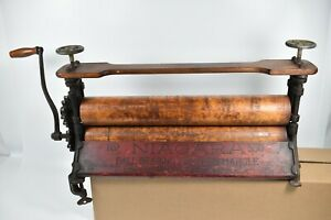 Antique Niagara No 550 Industrial Ball Bearing Clothes Wringer Laundry Erie Pa