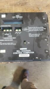Rowe Bill Changer Control Computer P n 65082512 Used