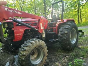 2016 Tractor Mahindra 4540 4wd 41hp Power Shuttle Transmission 221 Hours