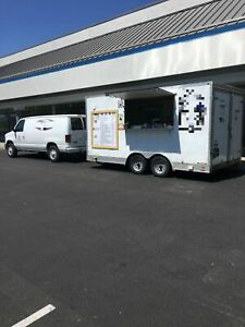 2017 8 X 16 Continental Cargo Elite Street Food Concession Trailer For Sale