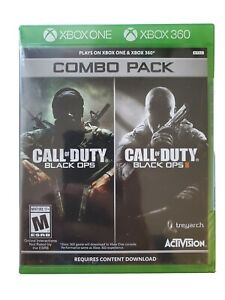 Call of Duty: Black Ops 1 amp; 2 Combo Pack Xbox 360 Xbox One $39.98