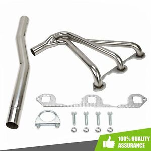 Performance Manifold Header Stainless W Gasket Bolts Fit 1962 1980 Mg Mgb 1 8l