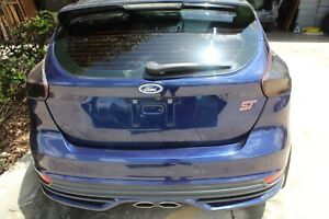 2015 2016 2017 2018 Ford Focus St Oem Complete Rear End Bumper Trunk Taillights