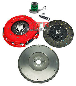 Xtr Stage 2 Clutch Kit Hd Flywheel 2005 2010 Ford Mustang Gt Shelby Gt 4 6l V8