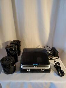 Dymo Labelwriter 450 Twin Turbo Thermal Fully Tested Includes 11 Rolls Of Labels