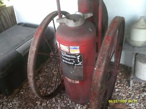 Ansul Redline Wheeled Fire Extinguiser