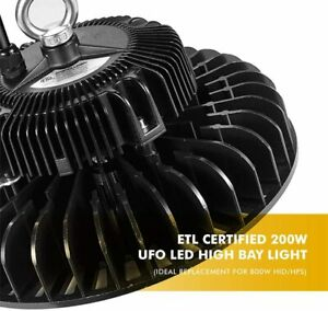 150w Ufo Led High Bay Light Etl Replacement For 800w Hid hps 5000k