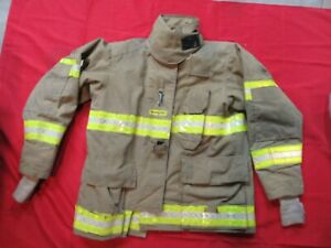 Quaker Gear Bunker Jacket Coat 48 X 32 Firefighter Turnout Fdny Fire