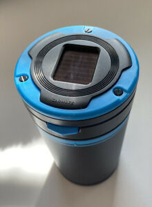 Brand New Carmate Active Life Ashtray Sky Blue Dz285 Led Light Cup Holder