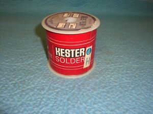 Kester Solder Resin Five 60 40 025 Diameter 4lbs