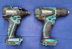 Makita Xfd01 Cordless 1 2 in Driverdrill Xdt08 1 4 Hex Impactdriver Tool Only