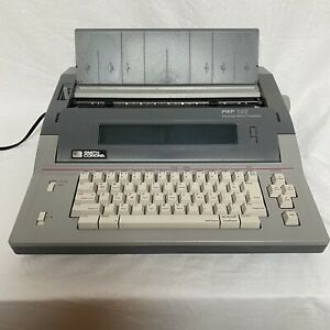 Smith Corona Pwp 145 Portable Word Processor Electronic Typewriter W Disk Drive
