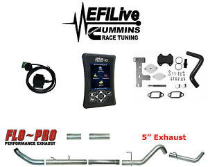 Efi Live Tuner 5 Ram 6 7l For Cummins 13 18 Dodge Dpf Egr Delete On The Fly Csp