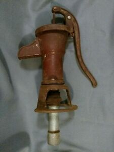 Water Hand Pump Vintage Cast Iron