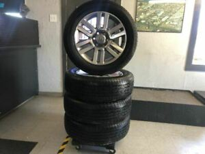 Full Set Of 20 Limited Wheels And Tires