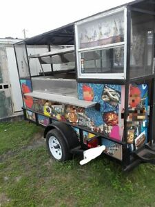 5 X 10 Compact 2015 Street Food Concession Trailer Used Small Mobile Kitchen F