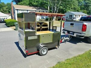 New 2019 Custom Built 39 X 71 Mobile Brick Oven Style Pizza Cart For Sale In M