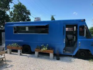Amazing Chevy 26 Step Van Kitchen Food Truck Used Mobile Kitchen For Sale In