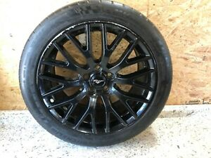 Michelin Pilot Super Sport Tire Mounted Ford Performance Mustang 19 Wheel Black