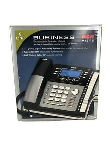Rca Visys 4 Line Expandable Speakerphone Digital Business Answering Machine