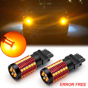 3157 3057 No Hyper Flash Canbus Led Turn Signal Light Bulbs Drl For Ford F 150