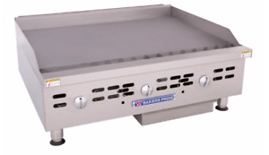 Bakers Pride Bphmg 2436i 36 Gas Griddle W Manual Controls 1 Steel Plate Na