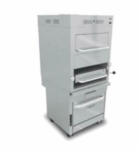Southbend Model No P32c 171 Infrared Broiler With Overhead Warming Oven And Sec