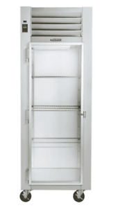 Traulsen G11011 30 G Series Reach In Refrigerator With Left hinged Glass Door