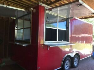 8 X 21 Lark Street Food Vending Concession Trailer With Restroom For Sale In F