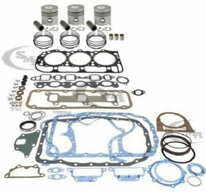 Made To Fit Ford Major Engine Overhaul Kit 201 Cid 3 Cyl Diesel