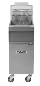 Vulcan 1gr35m 1 35 40 Lb Natural Gas Floor Fryer 90 000 Btu
