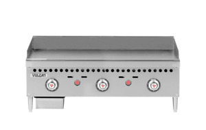 Vulcan Vcrg36 t 36 Gas Griddle W Thermostatic Controls 1 Steel Plate Natur