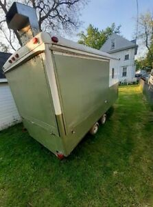 Wells Cargo 7 X 14 Street Food Concession Trailer For Sale In New York