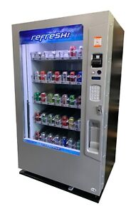 Vendo Vue 40 Glass Front Drink Vending Machine Reconditioned Free Shipping