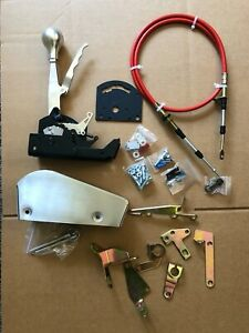 Chevy Ford Mopar Automatic Gated Shifter Universal Kit Th350 Th400 C4 C6