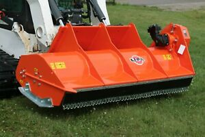 Lipa Tlf 200 Flail Mower Shredder for Large Skid Steer Loader