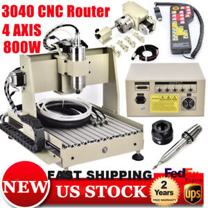 New Cnc Router 3040t Meachine Engraving Cutting Milling Drilling Machine Usb Us
