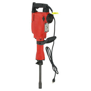 2200w Electric Jack Hammer Construction Concrete Breaker Punch 2 Bits Heavy Duty