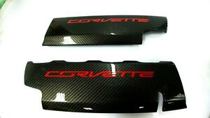 Chevrolet Corvette C7 Lt1 Hydro Carbon Fiber Fuel Rail Engine Covers
