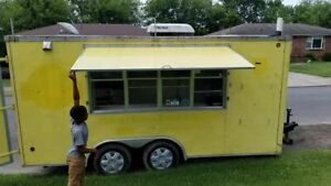 Ready To Roll 8 X 14 Food Concession Trailer mobile Food Unit For Sale In Tenn