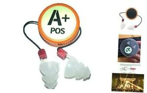 Corded Ear Plugs For Shooting Telescopic Silicone Earplugs With 35db High Nrr
