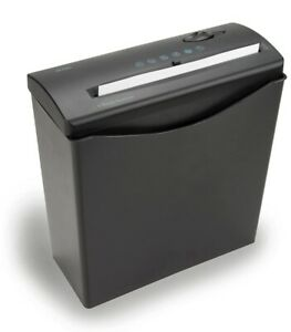 Royal 6 sheet Cross cut Paper Shredder Black