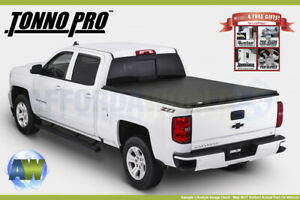 Tonno Pro Tri fold Vinyl Tonneau Cover For 1983 2011 Ford Ranger 6 1 Bed