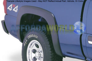 Oe Style Rear Fender Flare Matte Blk For 07 13 Silverado 1500 07 14 2500 3500