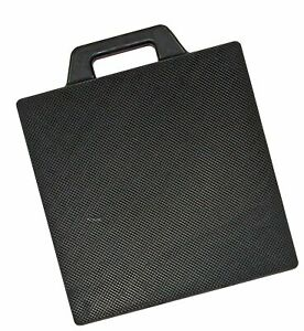 Buyers Products Op18x18r Rubber Outrigger Pad 18 X 18 inches