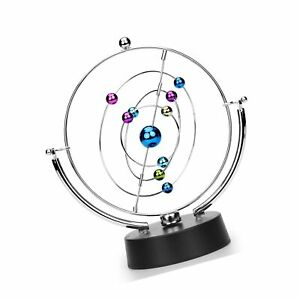 Sciencegeek Kinetic Art Asteroid Electronic Perpetual Motion Desk Toy Home