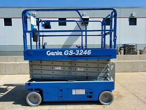 2011 Genie Gs3246 Electric Scissor Lift Slab Man Lift Jlg Skyjack
