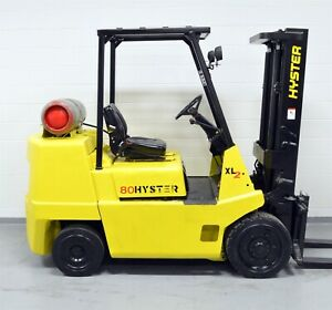 Nice Hyster 8 000 Lb Lpg Forklift 8000 S80xl Work Ready