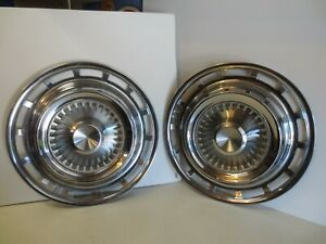 1959 Chrysler Imperial Pair Of Hubcaps
